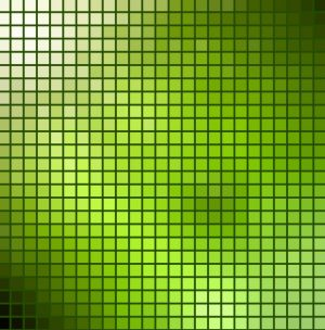 HD-119 Green Grid 3D Stretch Ceiling Film for Ceiling Decoration
