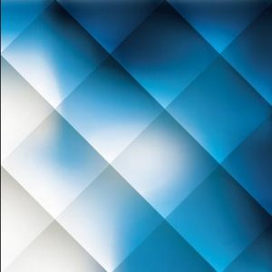 HD-120 Blue and White Square 3D Stretch Ceiling Film for Ceiling Decoration